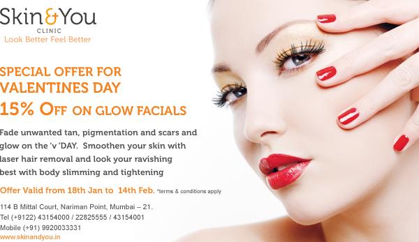 Valentine Day Skin Care