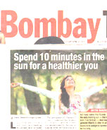 Spend 10 minutes in the sun to stay healthy