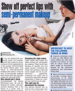 Show off perfect lips with Semi-Permanent Makeup