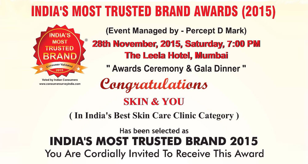 India's Most Trusted Brand Awards 2015