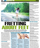 Dr Geeta's article in ADC on Monsoon Footcare